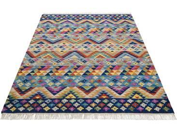 Theko Exklusiv Teppich »Koos«, rechteckig, Höhe 8 mm, blau, 8 mm, blau