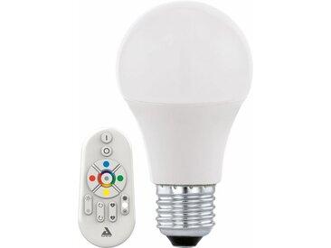 EGLO »Eglo CONNECT« LED-Leuchtmittel, E27, Warmweiß, Neutralweiß, Farbwechsler, Tageslichtweiß, CCT-Lichtsteuerung, weiß, weiß
