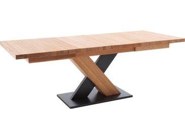 MCA furniture Säulen-Esstisch »Mendoza«, natur, Kernbuche geölt