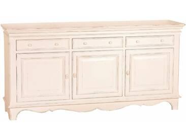 SIT Sideboard »Country Corner«, Breite 190 cm, weiß, antik weiß