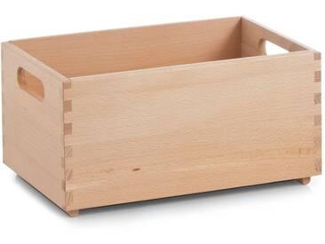 Zeller Present Holzkiste, für jeden Bedarf, natur, 30x20x15 cm, natur