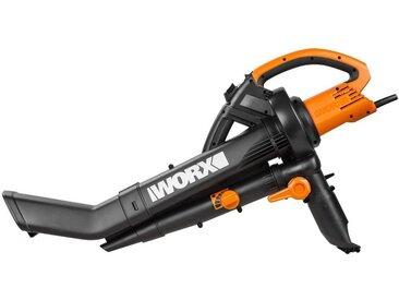 Worx WORX Elektro-Laubsauger »WG505E«, 335 km/h Blasgeschwindigkeit