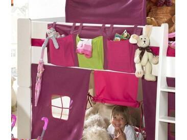 Home affaire Taschenset »FOR KIDS«, für die Hochbetten, rosa, pink