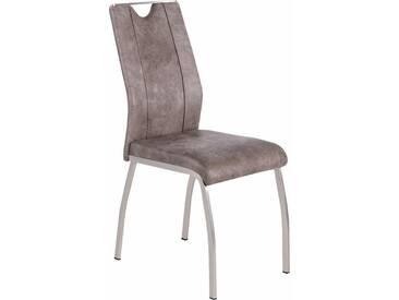 Stühle (2 Stück), grau, Vintage grau