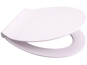 Sanilo SANILO WC-Sitz »Flat Grau«, mit Absenkautomatik, weiß