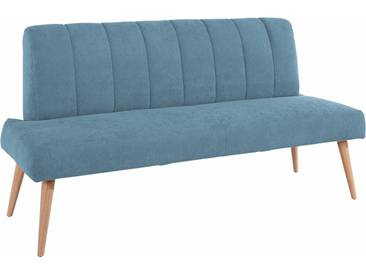 exxpo - sofa fashion Bank, Breite 182 cm, blau, 3er-Bank, azur