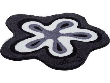 Colani Badematte » 1« , Höhe 24 mm, rutschhemmend beschichtet, fußbodenheizungsgeeignet, grau, 24 mm, anthrazit