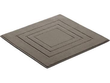 Vossen Badematte »Feeling« , Höhe 10 mm, fußbodenheizungsgeeignet, braun, 10 mm, timber