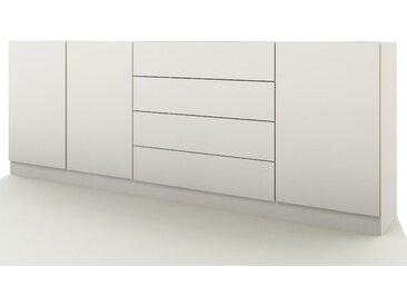 borchardt Möbel Borchardt Möbel Sideboard »Vaasa« Breite 190 cm mit Push to Open-Funktion, weiß, weiß matt