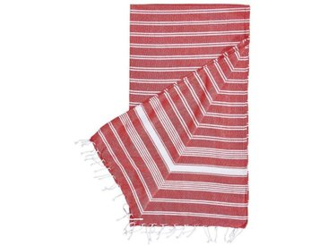 BUTLERS SURFSIDE »Hamamtuch 90x170 cm«, rot, rot, Rot