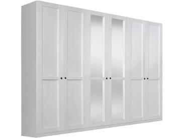 rauch SELECT Kleiderschrank, weiß, Breite: 271 cm, 6-trg., weiß