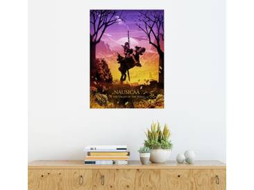 Posterlounge Wandbild - Albert Cagnef »NAUSICAA«, bunt, Holzbild, 120 x 160 cm, bunt