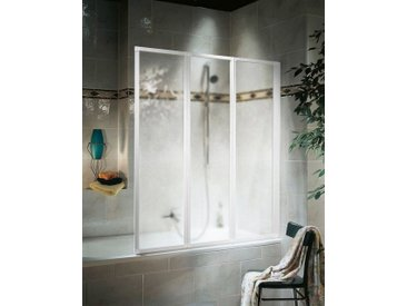 Schulte SCHULTE Badewannenaufsatz »3-tlg.«, weiß, weiß