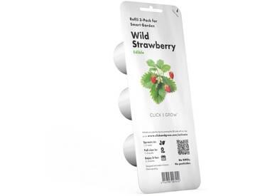 Click and Grow Nachfüllpack Walderdbeeren für Smart Garden »Plant Pod Wild Strawberry«, weiß, weiss