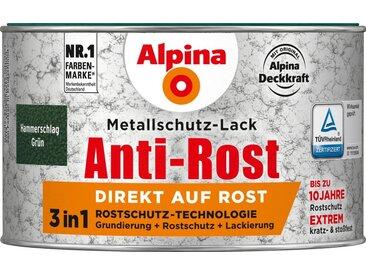 Alpina ALPINA Metallschutzlack »Anti-Rost Hammerschlag«, Grün, 300 ml, grün, grün