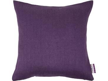 Tom Tailor Kissenhülle »Tiny Zigzag«, lila, Mischgewebe, violett