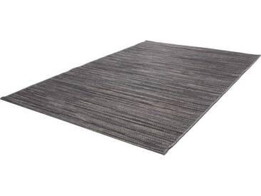 LALEE Läufer »Sunset 600«, rechteckig, Höhe 7 mm, In- und Outdoor geeignet, grau, 7 mm, grau