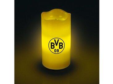 BVB LED-Echtwachskerze mit rotierendem BVB-Logo