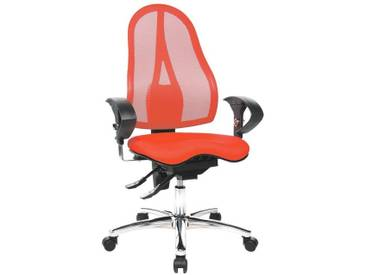 TOPSTAR Bürostuhl mit Armlehnen »Sitness 15«, rot, rot