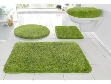 Kleine Wolke Badematte »RELAX« , Höhe 30 mm, rutschhemmend beschichtet, fußbodenheizungsgeeignet, grün, 30 mm, kiwigrün