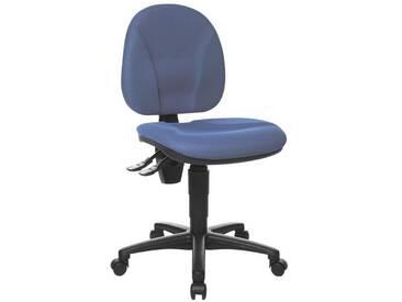 TOPSTAR Bürostuhl ohne Armlehnen »Point 10«, blau, blau