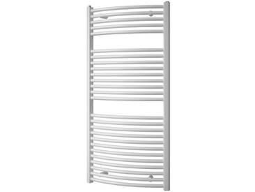 Schulte SCHULTE Designheizkörper »Mannheim«, weiß, 121 cm, weiß
