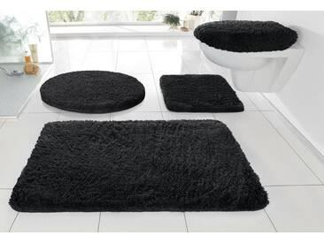 Kleine Wolke Badematte »RELAX« , Höhe 30 mm, rutschhemmend beschichtet, fußbodenheizungsgeeignet, schwarz, 30 mm, schwarz