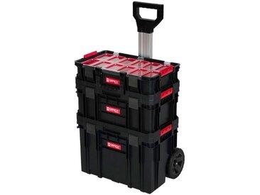 Kreher KREHER Werkzeugtrolley 3-tlg., 2 Boxen, 1 Trolley, schwarz, schwarz