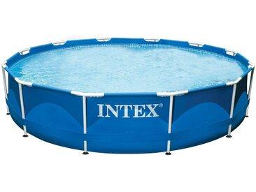 Intex Pool »Metal Frame Pool Rondo«, blau, blau