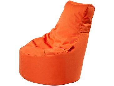 OUTBAG Sitzsack »Slope XS Plus«, wetterfest, für den Außenbereich, BxH: 60x70 cm, orange, orange