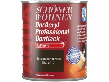 SCHÖNER WOHNEN-Kollektion Schöner Wohnen Farbe Buntlack »DurAcryl Professional glänzend, 750 ml schokobraun«, braun, braun