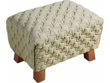 Max Winzer® Hocker »Footstool« gesteppt, natur, beige