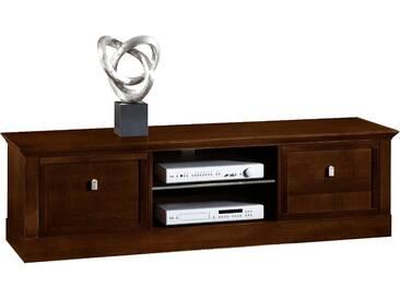SELVA TV Lowboard »Sophia« Modell 5407, Breite 169 cm, braun, nussbaumfarbig dunkel