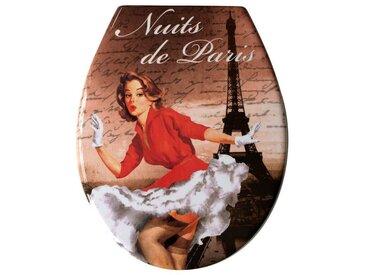 ADOB Adob WC-Sitz »Paris«, Mit Absenkautomatik, bunt, bunt