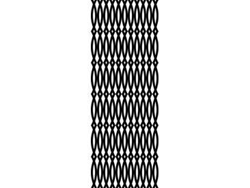 queence QUEENCE Vinyltapete »Dominic«, 90 x 250 cm, selbstklebend, schwarz, schwarz/weiß