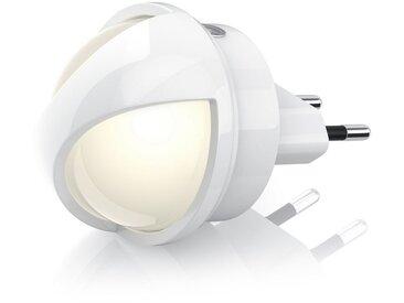 BEARWARE Bearware Nachtlicht mit drehbarem 360° LED-Aufsatz »Nachtlampe mit warmweißen LEDs«, weiß, weiß