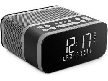Pure Radiowecker »Siesta S6 (CrystalVue+-Display, Bluetooth, DAB/DAB«, grau, graphite