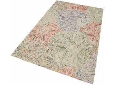 THEKO Teppich »Wool 2032«, rechteckig, Höhe 20 mm, grün, 20 mm, grün