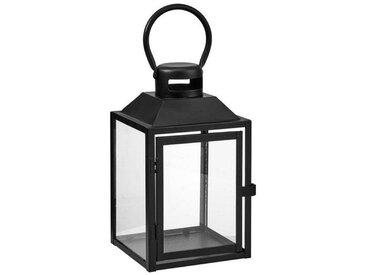 BUTLERS LIGHTHOUSE »Laterne Höhe 24cm«, schwarz, Schwarz