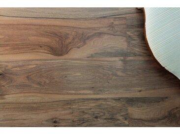 GHB Böden die Räume adeln Laminat »Nussbaum europisch geölt«, Echtholz, 250 x 2050 mm, braun, braun