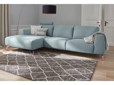 Guido Maria Kretschmer Home&Living GMK Home & Living Polsterecke »Reval«, grün, Recamiere links, salbei