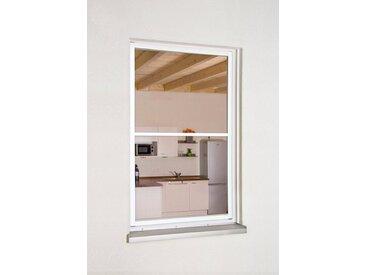 hecht international HECHT Insektenschutz-Fenster »MASTER SLIM XL«, weiß/anthrazit, BxH: 130x220 cm, grau, Fenster, 130 cm x 220 cm, anthrazit