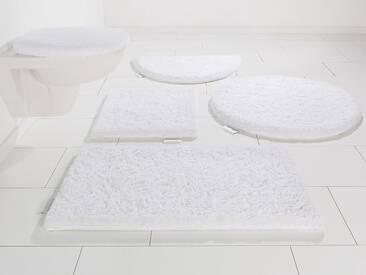 Guido Maria Kretschmer Home&Living Badematte »Jari« , Höhe 30 mm, weiß, 30 mm, weiß