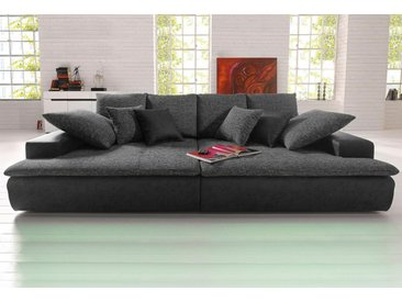 Nova Via Big-Sofa, schwarz, 260 cm, schwarz