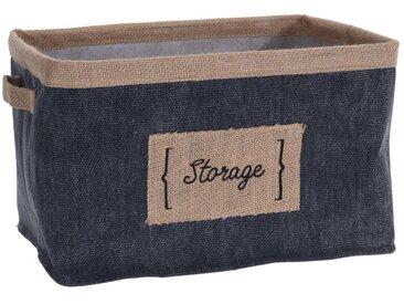 HTI-Living Aufbewahrungskorb »Storage«, blau, Dunkelblau