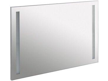 Schildmeyer Spiegel / Badspiegel »Irene« Breite 80 cm, mit LED-Beleuchtung, silberfarben, alufarben