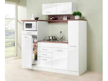 Miniküche 1 M Mit Kühlschrank : Miniküche mit geschirrspüler spüle ofen kochfeld arbeitsplatte