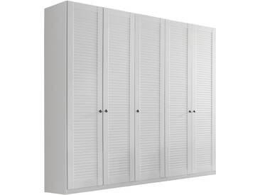 rauch SELECT Kleiderschrank, weiß, Breite: 226 cm, 5-trg., weiß