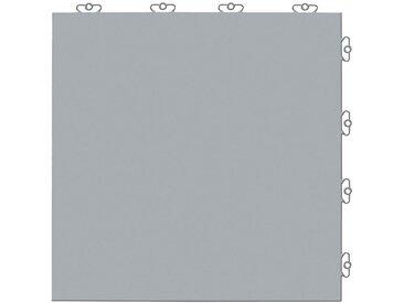 Bergo Flooring Kunststofffliesen-Set: »Elite grau« mit Klick-Verbindung, grau, 2 m², grau