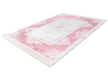 LALEE Läufer »Almas 700«, rechteckig, Höhe 11 mm, rosa, 11 mm, rosa